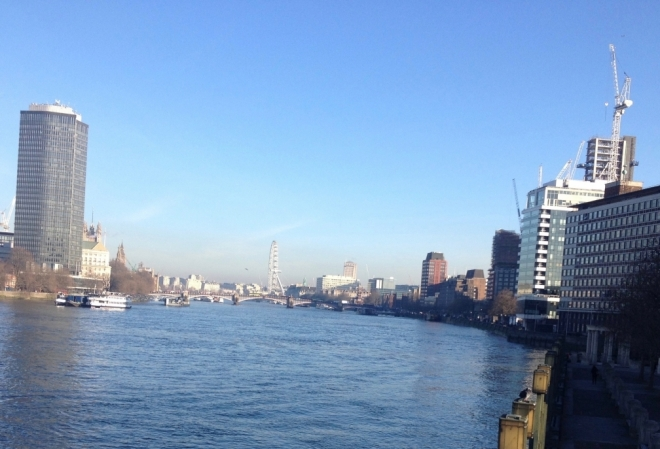 River Thames from Vauxhall